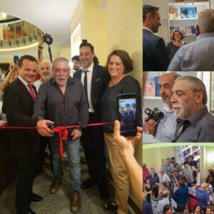 Nino Frassica inaugura il bookshop del Teatro Vittorio Emanuele