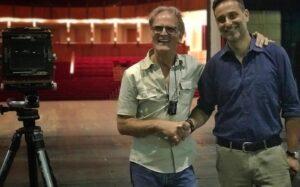 Il fotografo tedesco Klaus Frahm al Teatro Vittorio Emanuele