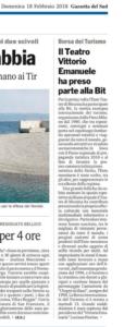 Il teatro Vittorio Emanuele ha preso parte alla Bit